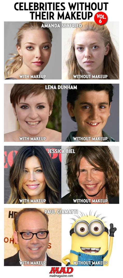 celebrities without their makeup mad celebrities without their makeup mugeek vidalondon