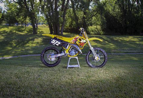 retro motocross matt wellers1994 suzuki rm125 project bike primal x