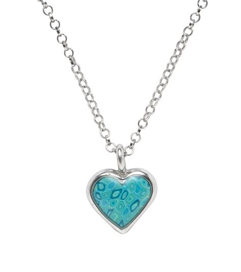 adina plastelina turquoise pendant with circle chain