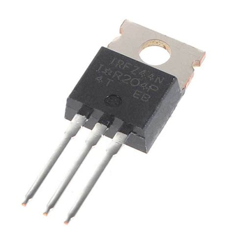 gambar transistor power mosfet irfz44 buy irfz44 power mosfet india component7