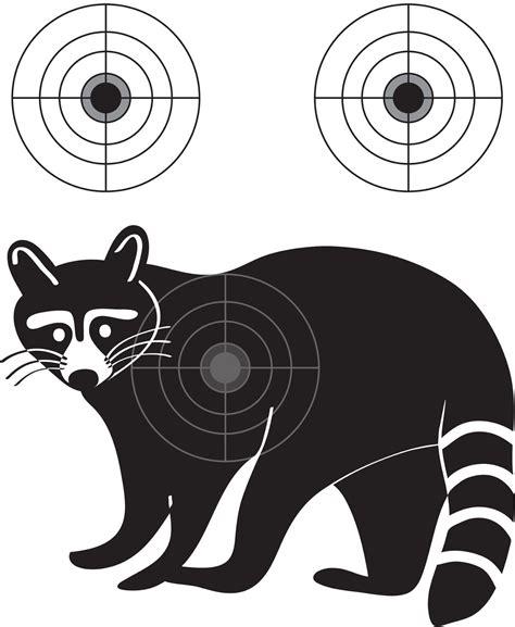 printable pheasant targets распечатай и стреляй мишень енот coon target