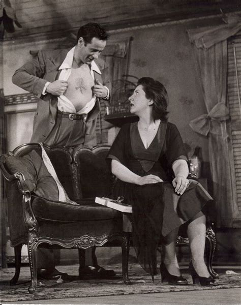 eli wallach and maureen stapleton broadway photographs