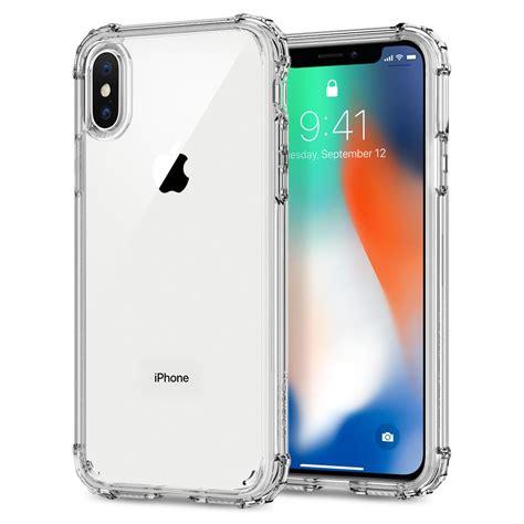 Spigen Iphone X Original Shell Casing Cover Clear Cryst iphone x shell spigen inc