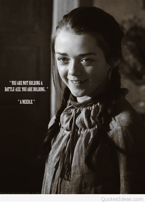 Game Of Thrones Arya Stark Quotes