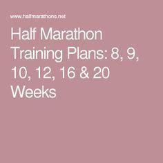 couch to half marathon 20 weeks 1000 ideas about marathon training plans on pinterest