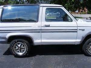 1 400 1989 ford bronco ii silver 55 600 for sale