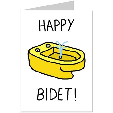 Happy Bidet Card happy bidet greeting cards carddle