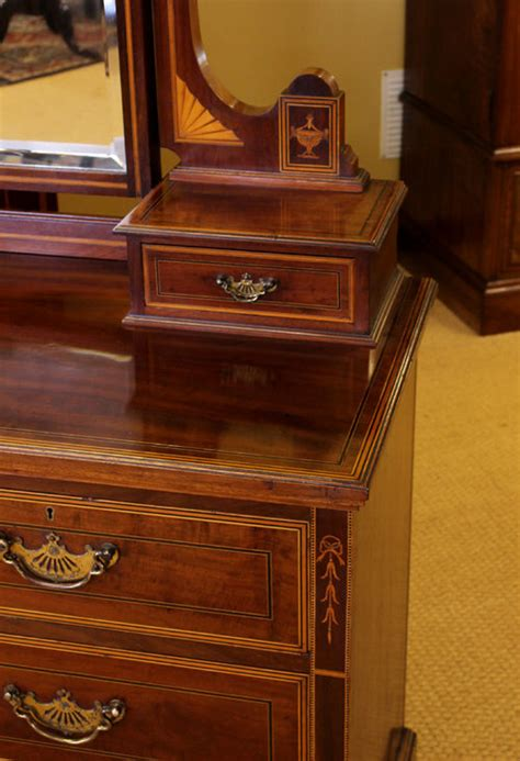 edwardian mahogany bedroom suite  antiques atlas