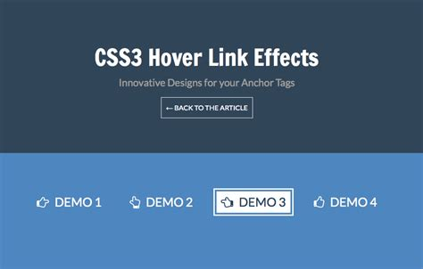 css layout effects css3 hover link effects designmodo