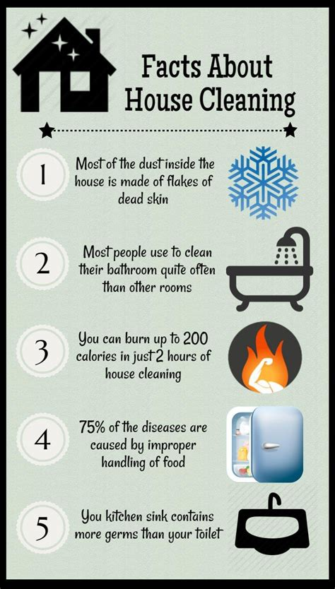 cleaning tips for home house cleaning tips visual ly