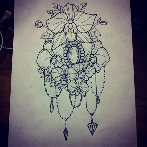 gem tattoo designs i all the droplets and gems it really