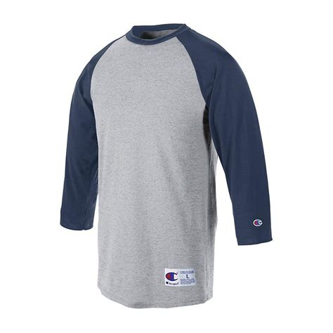 Raglan 3second 4 chion raglan baseball t shirt 3 4 sleeve jersey t137 ebay
