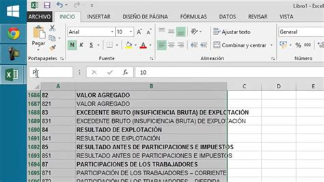 layout en excel plan contable en excel y un uso facil youtube