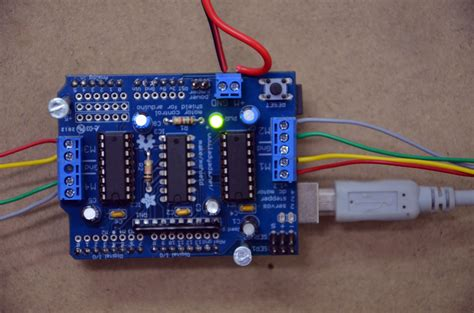 code for arduino motor shield adafruit motor shield and arduino uno stepper tutorial