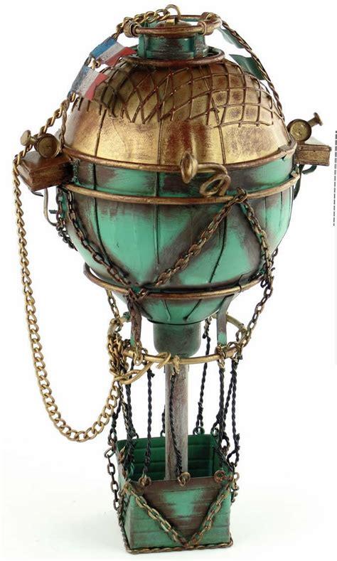 Handmade Air Balloon - handmade antique tin model other 18th century
