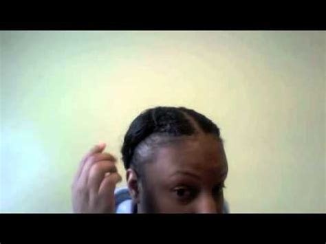 natural hair styles to hide balding edges why are my edges thin youtube