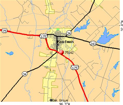 map of kaufman texas 75142 zip code kaufman texas profile homes apartments schools population income