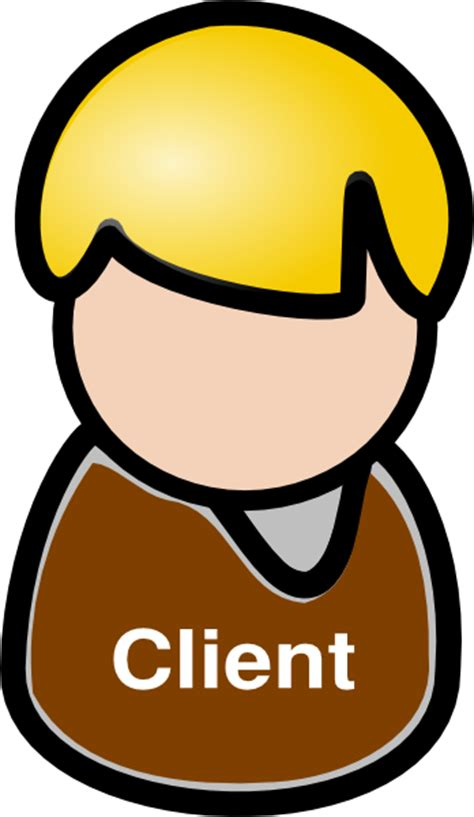 client clip art  clkercom vector clip art  royalty  public domain
