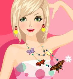 pixie hollow real haircut makeover game dress up games polka dots style play barbie games