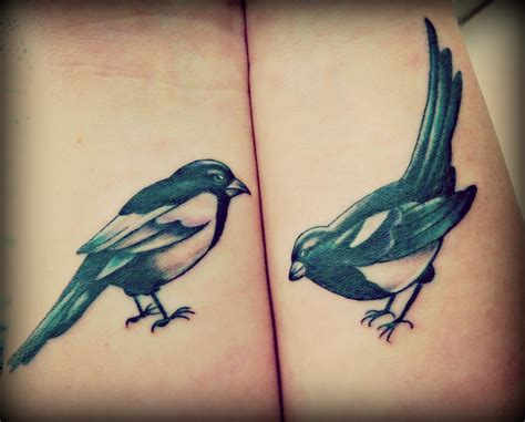 magpie tattoo magpie tattoologist
