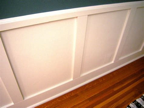 How To Make Wainscoting Panels how to install recessed panel wainscoting how tos diy