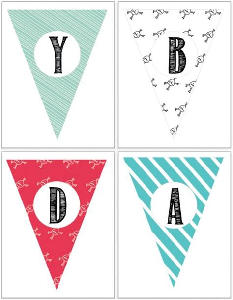 printable alphabet pennant banner free entire alphabet banner so you can spell your child s