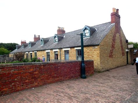 Beamish Cottages by Francis Miners Cottages Beamish C Bill
