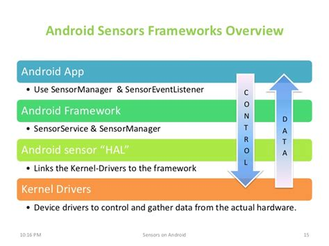 android sensor sensors on android