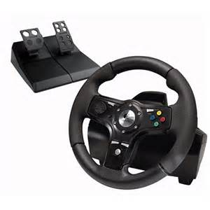 Top Steering Wheels For Xbox 360 Logitech S Xbox 360 Drivefx Axial Feedback Wheel Xbox