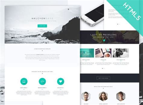 free personal website templates html css top 100 best free html css website templates