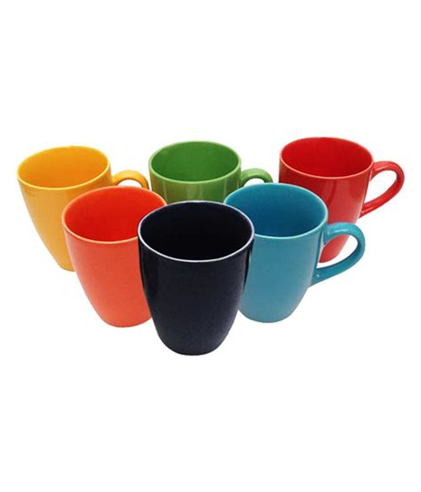 chi designer coffee mug buy online at best price in india snapdeal chi multicolour coffee mug set of 6 buy online at best