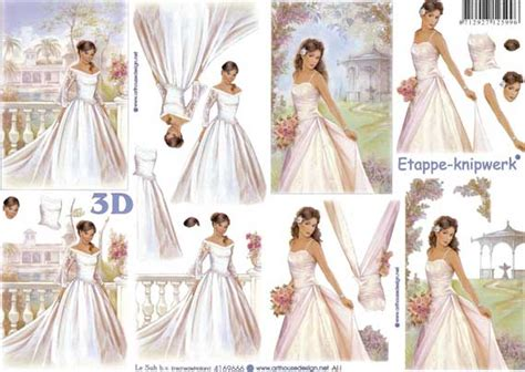 Wedding Decoupage - beautiful wedding design 3d decoupage sheet