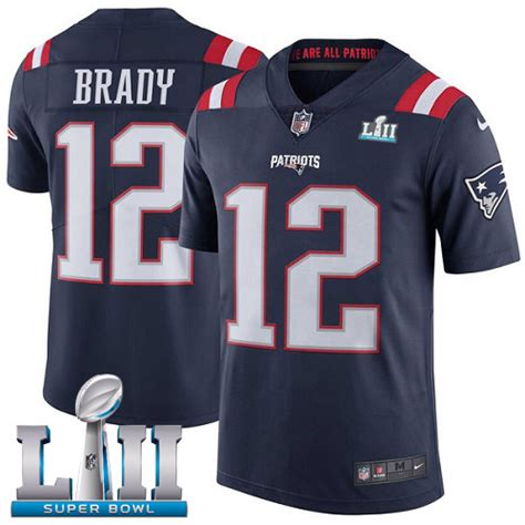 s nike new patriots 12 tom brady elite navy