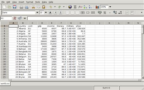 What Is Spreadsheet Software Used For by Spreadsheets