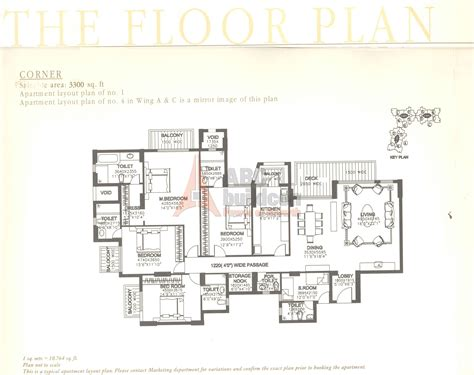 the floor plan dlf summit floor plan floorplan in