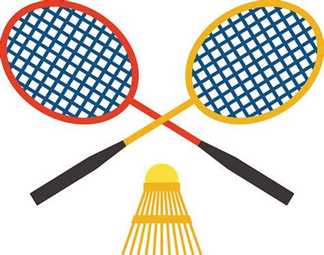 clipart badminton shuttlecock clip vector images illustrations istock