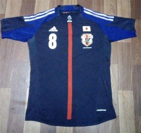 japan home football shirt   added