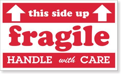 fragile labels sku d1469