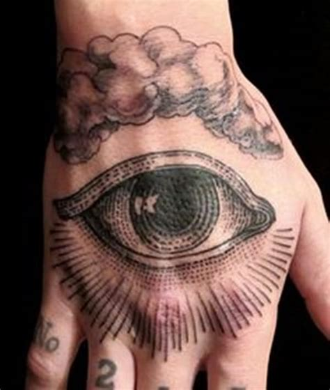 tattoo eye in hand 40 cloud tattoos both heavenly earthly
