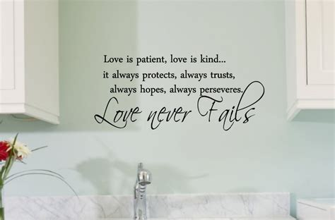 inspirational quotes decor for the home aliexpress com buy love is patient love is kind vinyl