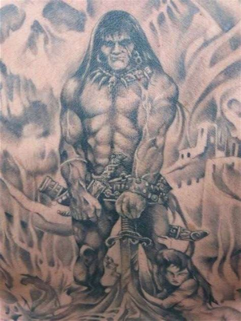 barbarian tattoo designs conan pictures to pin on tattooskid