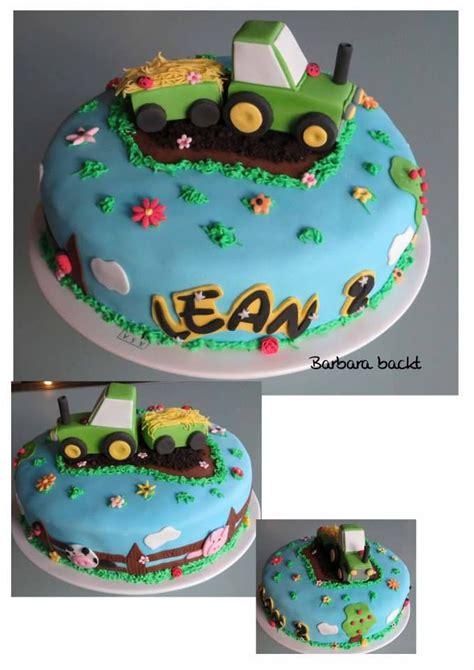 auto als kuchen traktor torte zu einem 2 geburtstag pinned