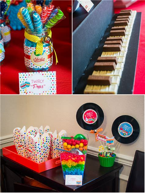 music themed baby jam music inspired 1st birthday party party ideas