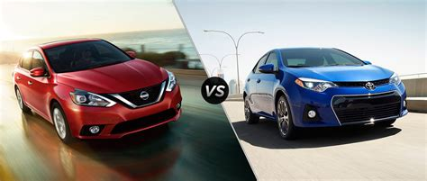 Which Is Better Toyota Or Nissan 2016 Nissan Sentra Vs 2016 Toyota Corolla