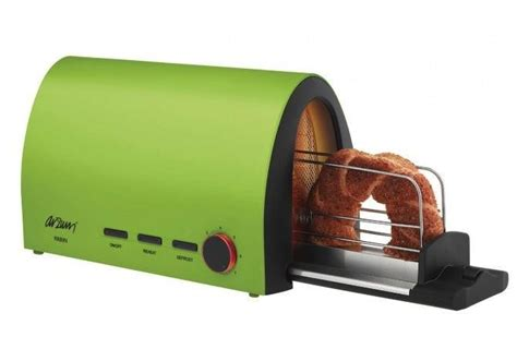 Side Toaster stop burning your and put your bread through this toaster tunnel digital trends
