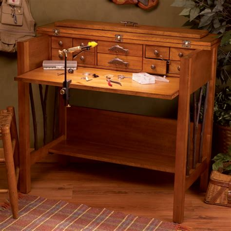 willow run fly tying desk tables cfitters