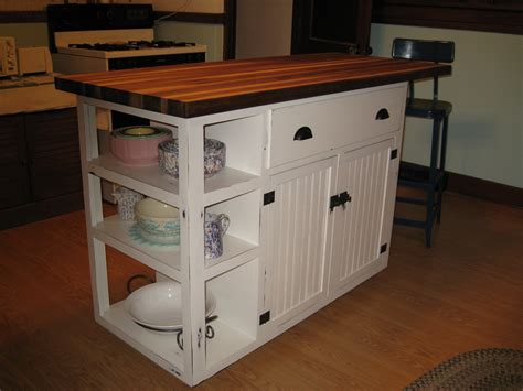 Kitchen Island Plans White Kitchen Island Diy Projects