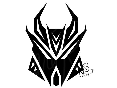 decepticon s logo by carorichard on deviantart