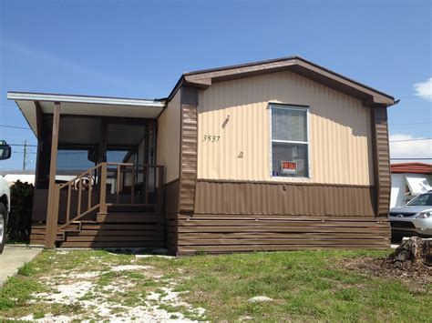 tropical trail villa sold 2 bedroom 1 bath mobile home