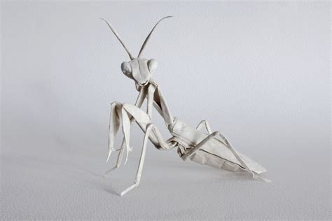 Origami Mantis - galleries print origami designs fubiz